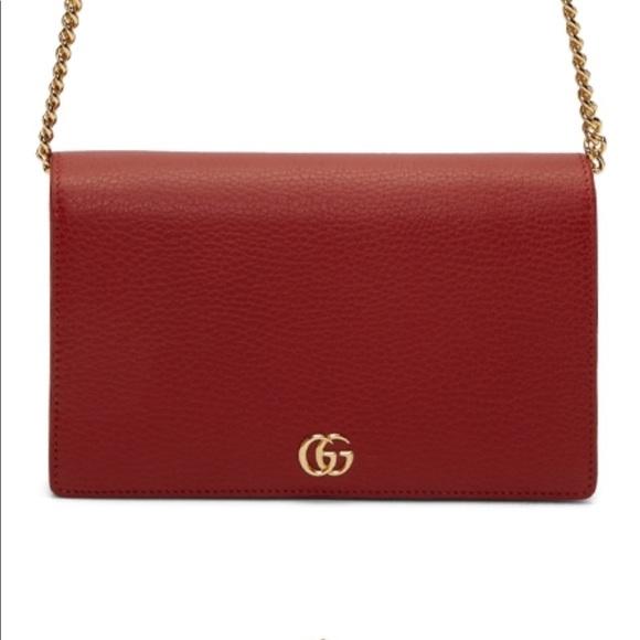 443455de10cd3e Gucci Bags | Sale Marmont Mini Chain Bag | Poshmark